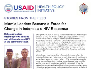 Islamic Leaders Become a Force for Change in Indonesia's HIV Response