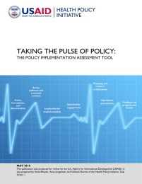 Policy Implementation Assessment Tool
