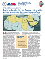 Paths to Leadership for PLHIV