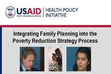 Integrating Family Planning into the Poverty Reduction Strategy Process