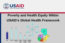 Poverty and Health Equity within USAID's Global Health Framework