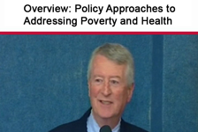 Policy Approaches to Addressing Poverty and Health
